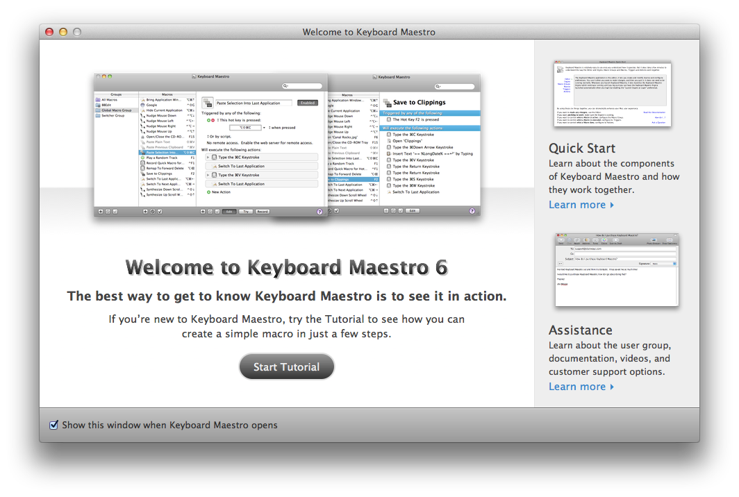 Keyboard Maestro 6 Documentation: Windows